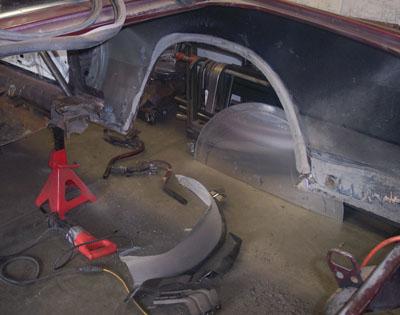 Sheet Metal Wheel Tubs Www Darkside Ca